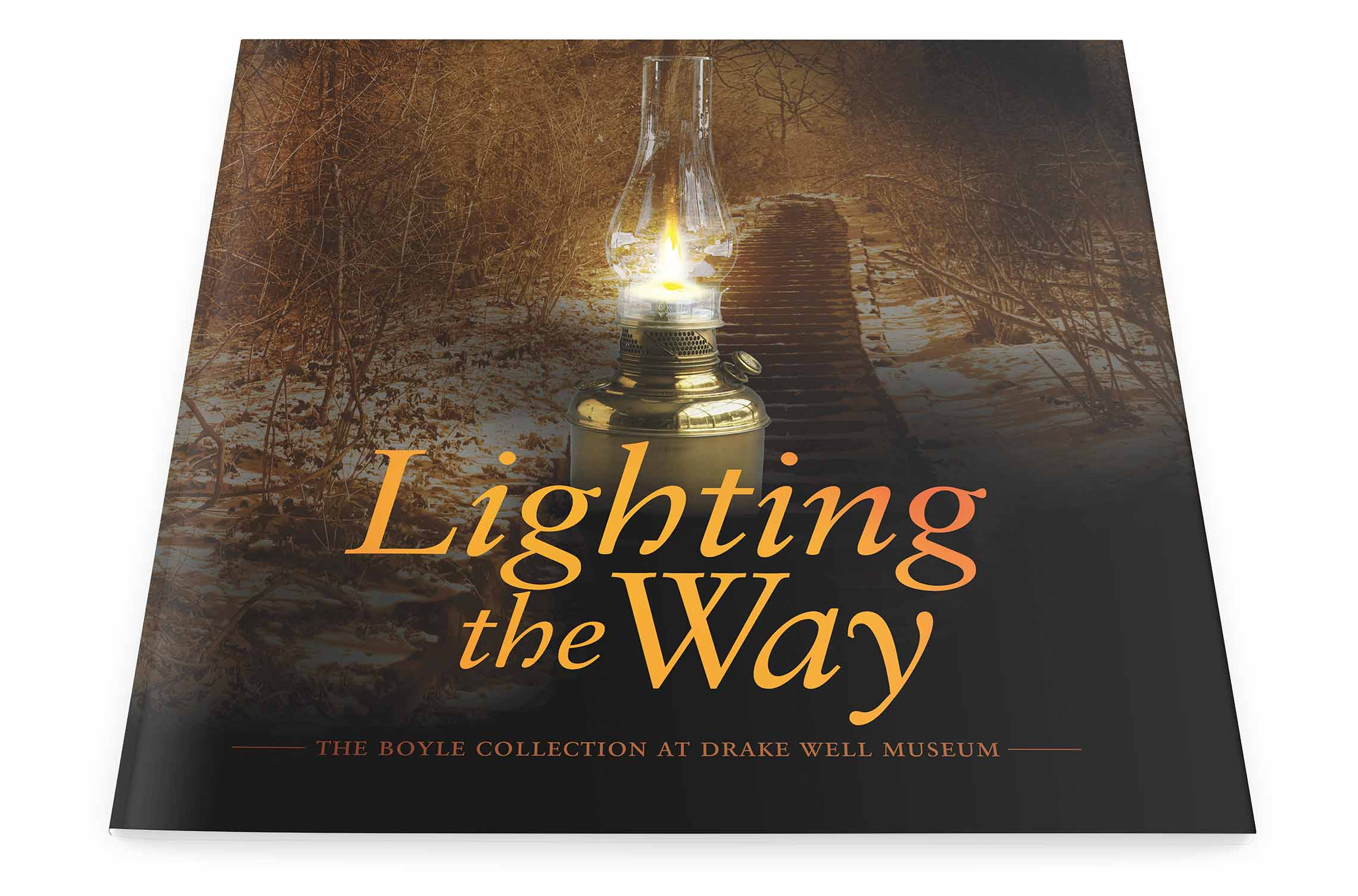 Lighting the Way Book Design