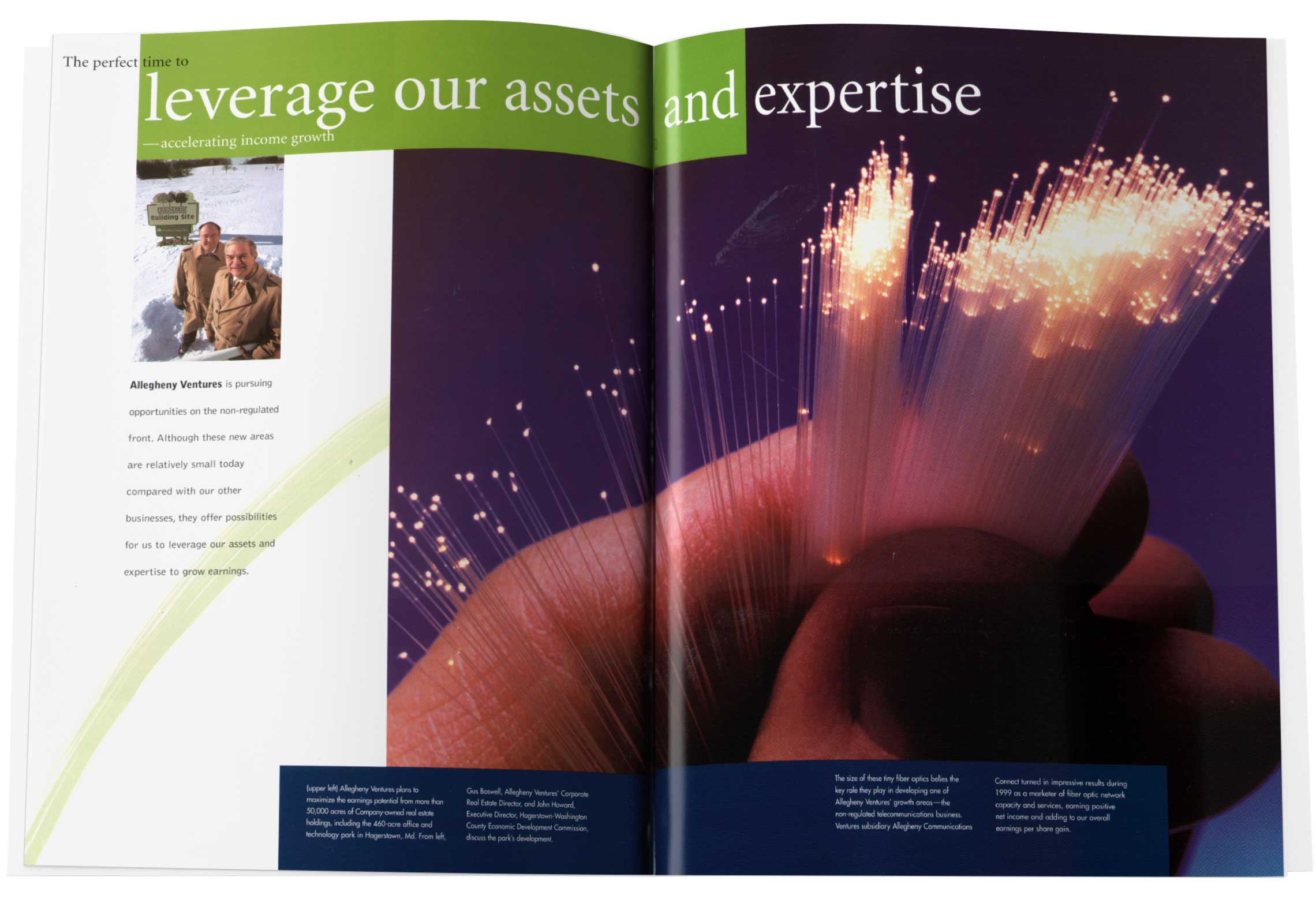 Annual Report Spread