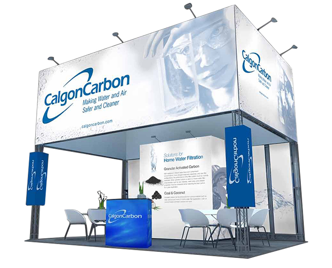 Calgon Carbon Exhibition Booth