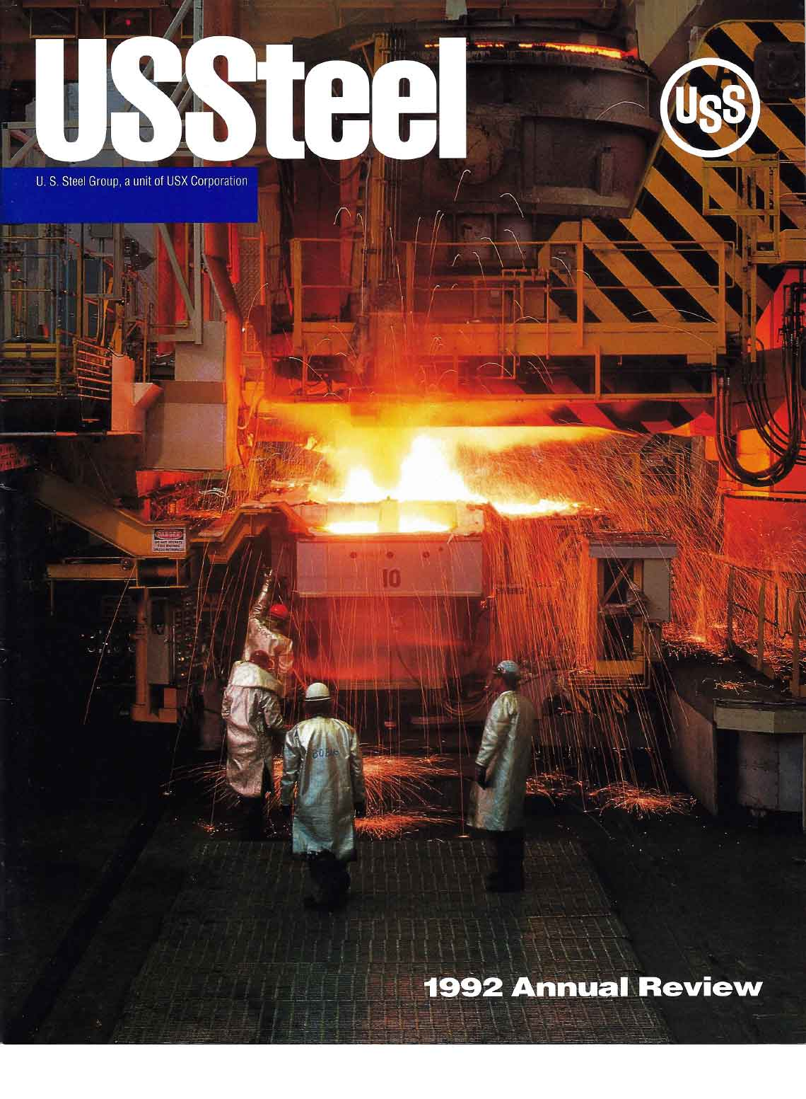 U.S. Steel 1992 Annual Review