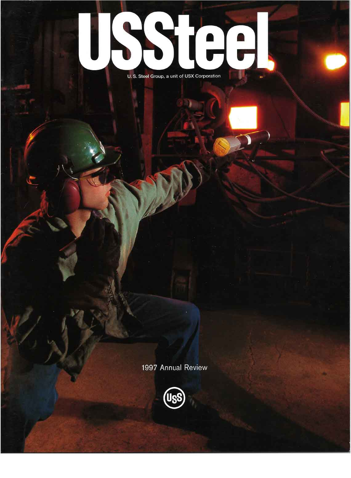 U.S. Steel 1997 Annual Review